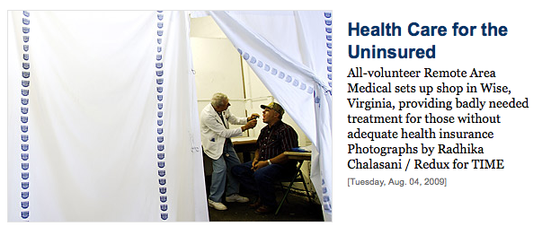 All-volunteer Remote Area Medical sets up shop in Wise, Virginia, providing badly needed treatment for those without adequate health insurance Photographs by Radhika Chalasani / Redux for TIME