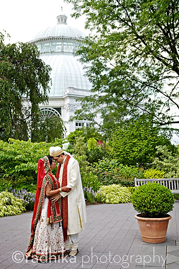 NEW YORK: Indian Wedding at the Bronx Botanical Garden.