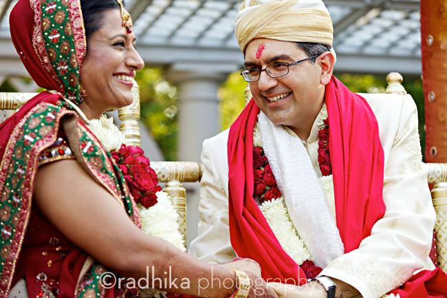 NEW YORK: Indian Wedding at the Bronx Botanical Garden.