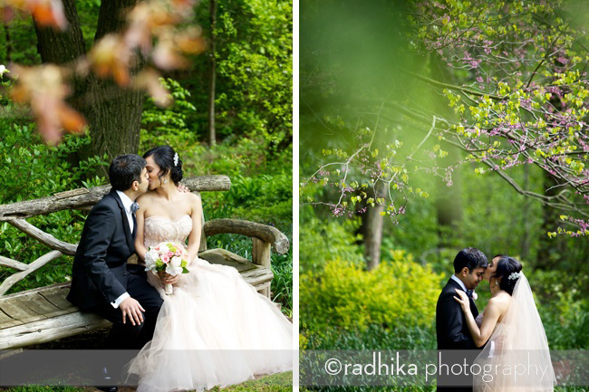 wedding portraits reeves-reed arboretum