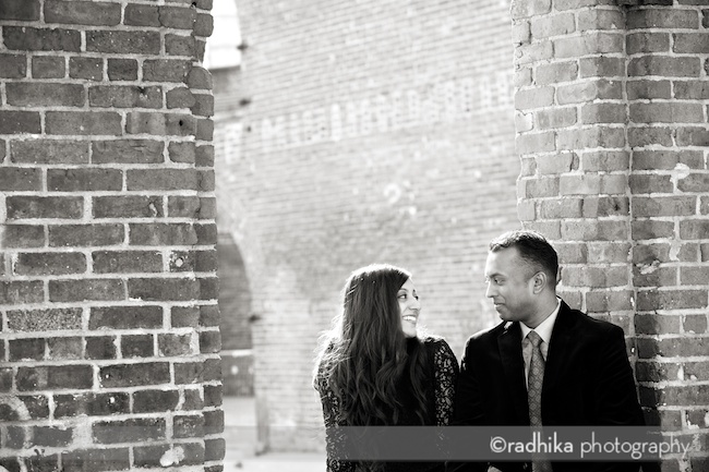 brooklyn engagement portrait