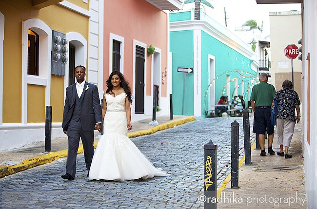 san juan wedding portrait