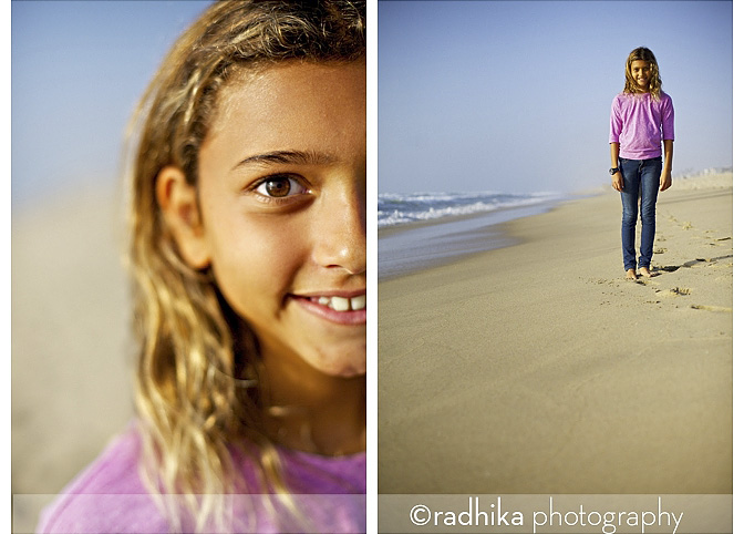 kids beach portraits
