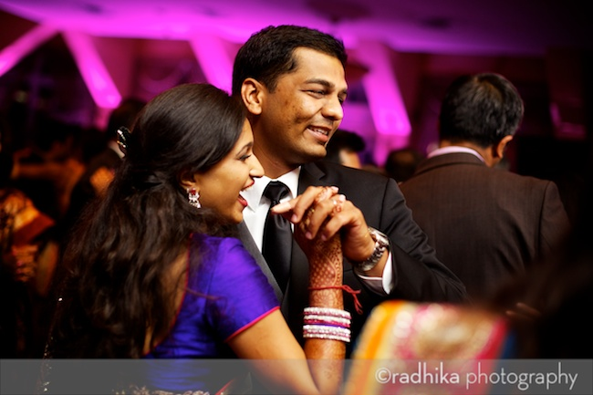 indian wedding calyle on green